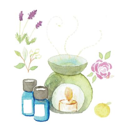 香りで癒す こころのストレス