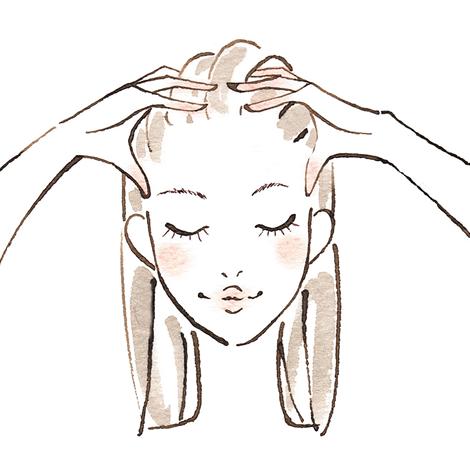 リフトアップ効果のある頭のマッサージは?(2016.3.18up)