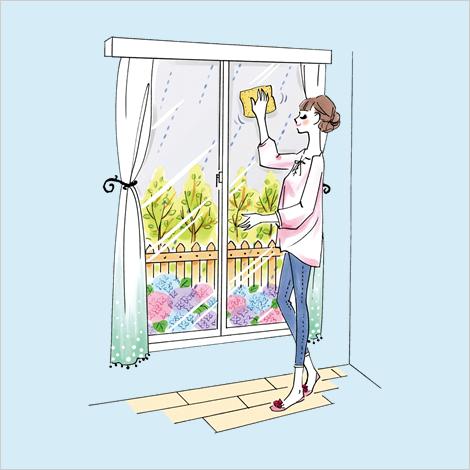梅雨の掃除でさわやかな暮らしを