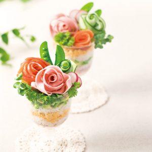 バラのブーケ寿司