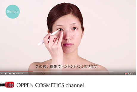 YouTube OPPEN COSMETICS channel